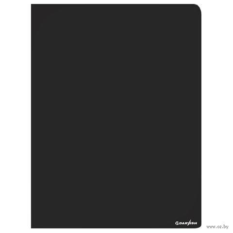 """Папка-скоросшиватель """"Darvish"""" (А4; черная; арт. DV-07S)"""