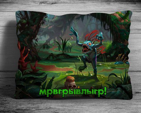 """Подушка """"Варкрафт"""" (арт. 7; 28х38 см) — фото, картинка"""