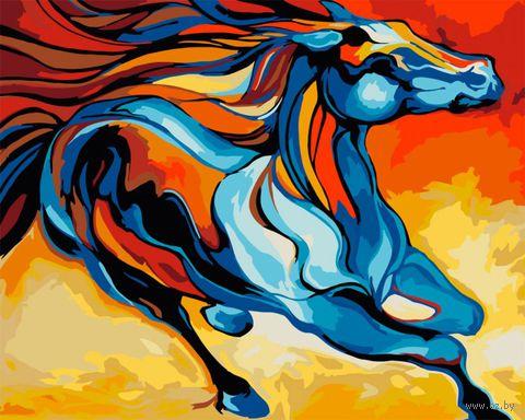 "Картина по номерам ""Марсия Болдуин. Сказочная лошадь"" (400х500 мм) — фото, картинка"