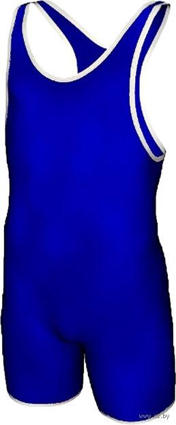 Трико борцовское MA-401 (р. 36; синее) — фото, картинка