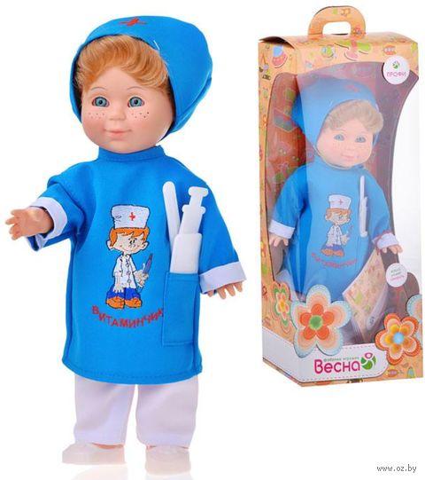 """Музыкальная кукла """"Митя. Доктор"""" (арт. В1628/о) — фото, картинка"""