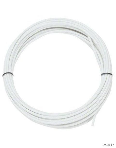 Оплётка троса переключения (30 м; белая) — фото, картинка