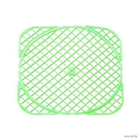 Коврик для раковины пластмассовый (320х320 мм) — фото, картинка