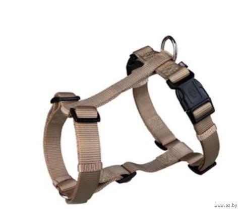 "Шлея для собак ""Premium H-harness"" (размер S-M; 40-65 см; бежевый)"