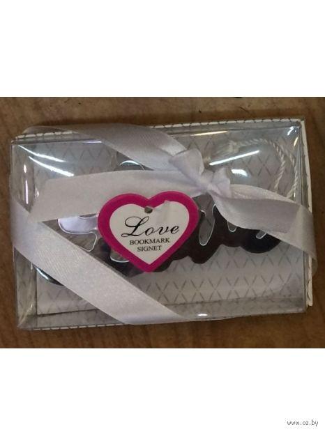"""Декоративная закладка для книг """"Love"""" — фото, картинка"""