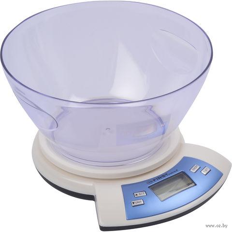 Кухонные весы First FA-6406 (белые) — фото, картинка