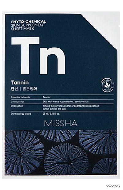 "Тканевая маска для лица ""Tannin"" (25 мл) — фото, картинка"