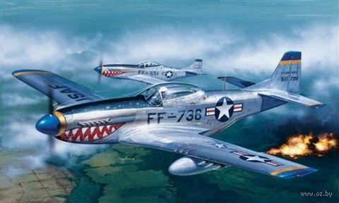 "Истребитель ""P-51 Mustang"" (масштаб: 1/72) — фото, картинка"