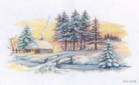 """Вышивка крестом """"Зимние красоты"""""""