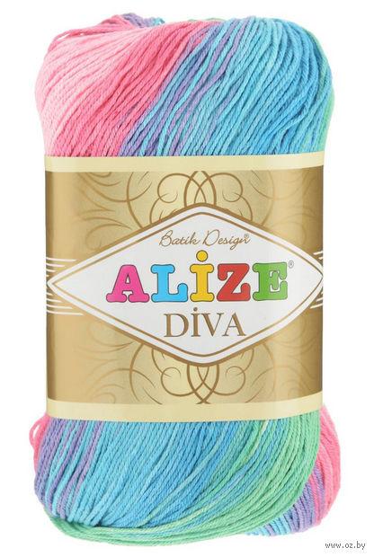 "Пряжа ""ALIZE. Diva Batik Design №4537"" (100 г; 350 м) — фото, картинка"