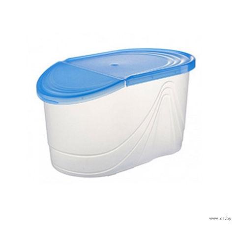 """Контейнер для хранения продуктов """"Wave"""" (1 л; джинс) — фото, картинка"""