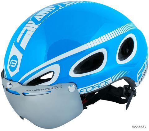 """Шлем велосипедный """"Hornet"""" (синий; р. M) — фото, картинка"""