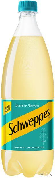 """Напиток газированный """"Schweppes. Биттер Лемон"""" (1 л) — фото, картинка"""