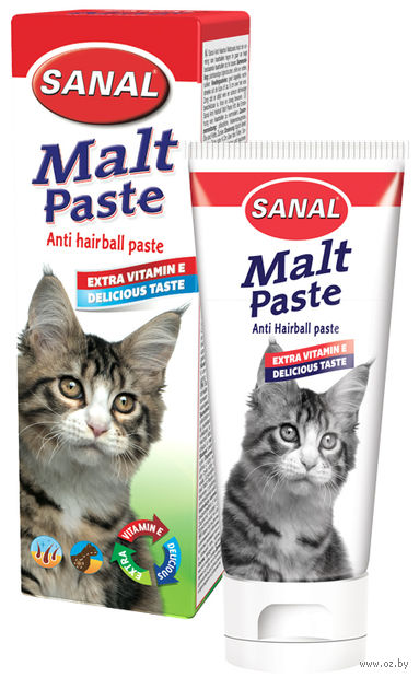 "Мальт-паста для кошек ""Sanal"" (100 гр., арт. 6010SV)"