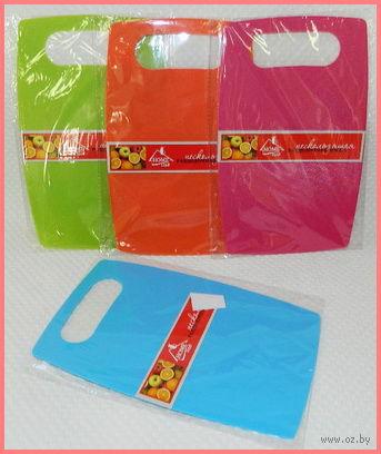 Доска разделочная пластмассовая (150х240х2 мм)
