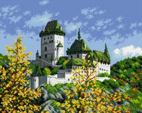 "Алмазная вышивка-мозаика ""Древний замок"" (510х410 мм) — фото, картинка"