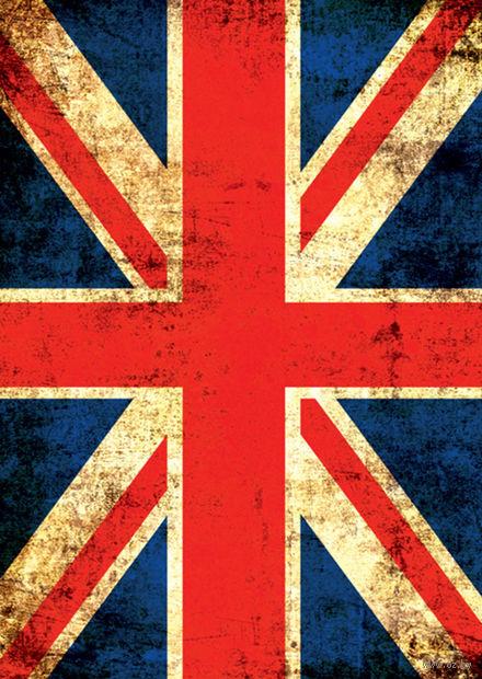"Записная книжка ""Британский флаг"" (А6)"