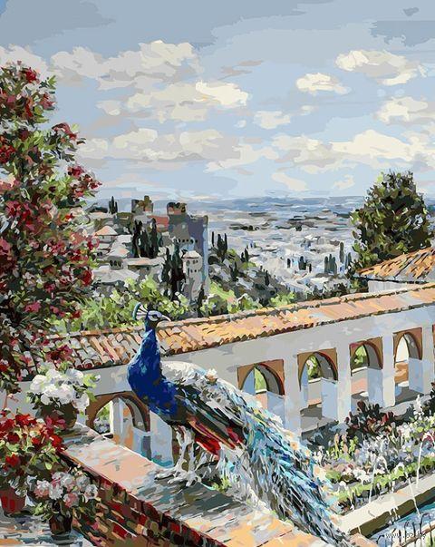 "Картина по номерам ""Сады Гранады"" (400х500 мм; арт. 952-AB-L) — фото, картинка"