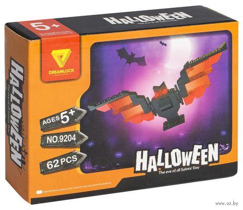 """Конструктор """"Хэллоуин. Черная летучая мышь"""" (62 детали) — фото, картинка"""