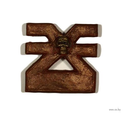 """Печать на магните """"Warhammer 40000. Символ Кхорна"""" — фото, картинка"""