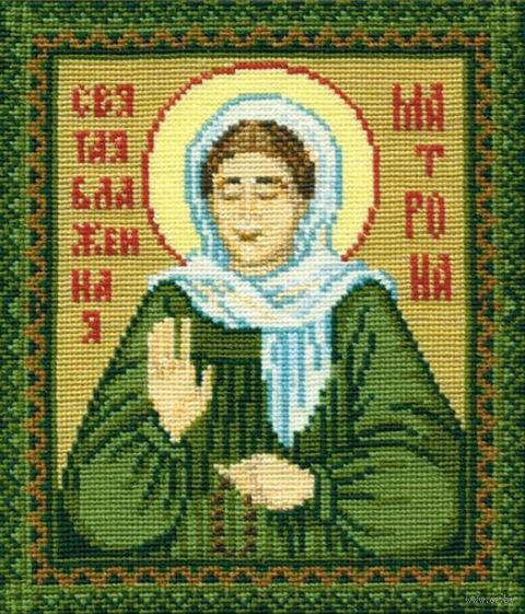 "Вышивка крестом ""Святая блаженная Матрона"" (арт. 876)"