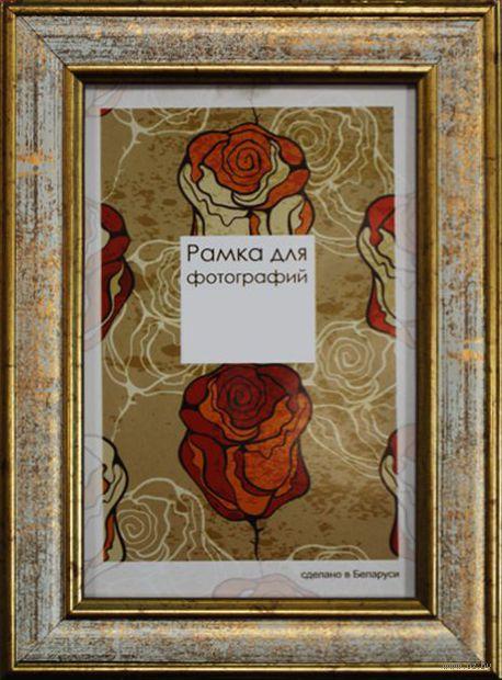 Рамка деревянная со стеклом (10х15 см, арт. 229/04)