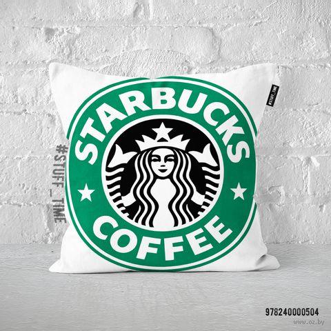 """Подушка """"Старбакс кофе"""" (арт. 504)"""