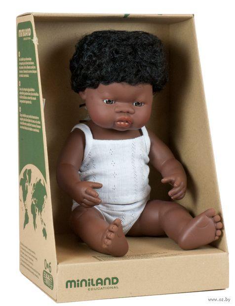 "Пупс ""Мальчик африканец"" (арт. 31153) — фото, картинка"