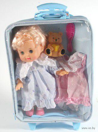 Кукла c мишкой (с аксессуарами) — фото, картинка
