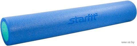 """Ролик для йоги и пилатеса """"FA-502"""" (15х90 см; синий/голубой) — фото, картинка"""