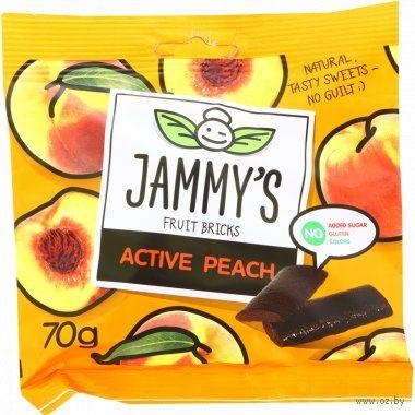 """Пастилки """"Jammy's. Персик"""" (70 г) — фото, картинка"""