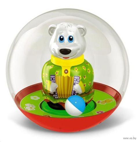 """Неваляшка-шар """"Медведь Митя"""" (пакет)"""