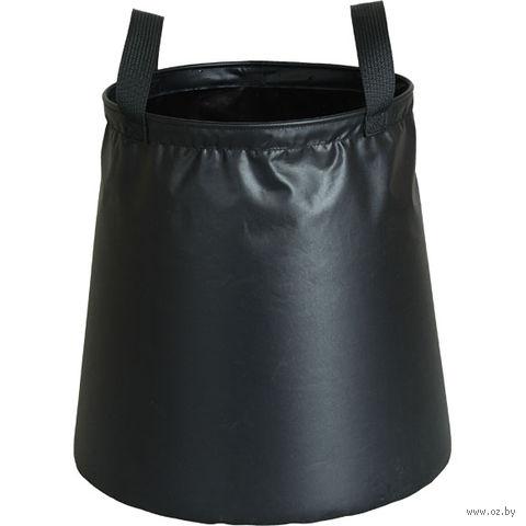 Ведро-авоська походное (8 л; чёрное) — фото, картинка