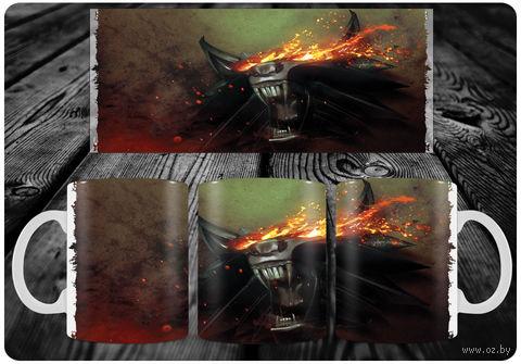 "Кружка ""Ведьмак"" (арт. 7) — фото, картинка"