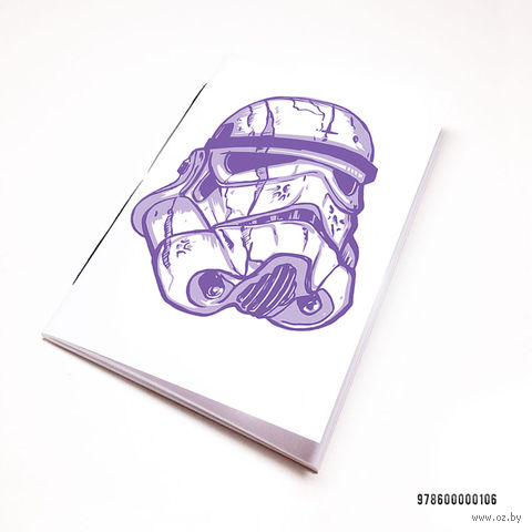 """Блокнот белый """"Звездные войны. Штурмовик"""" А7 (арт. 106)"""