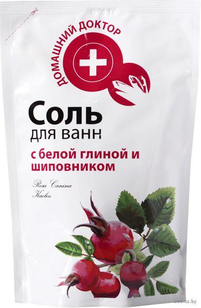 """Соль для ванн """"С белой глиной и шиповником"""" (500 г)"""