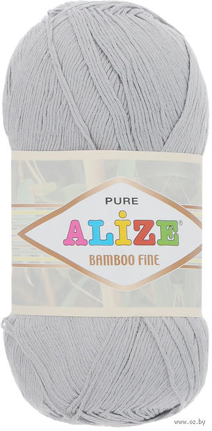 ALIZE. Bamboo Fine №52 (100 г; 440 м) — фото, картинка