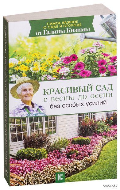 Красивый сад с весны до осени без особых усилий — фото, картинка