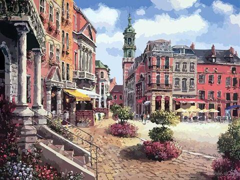 "Картина по номерам ""Шарлеруа. Бельгия"" (400х500 мм; арт. 629-CG-C) — фото, картинка"