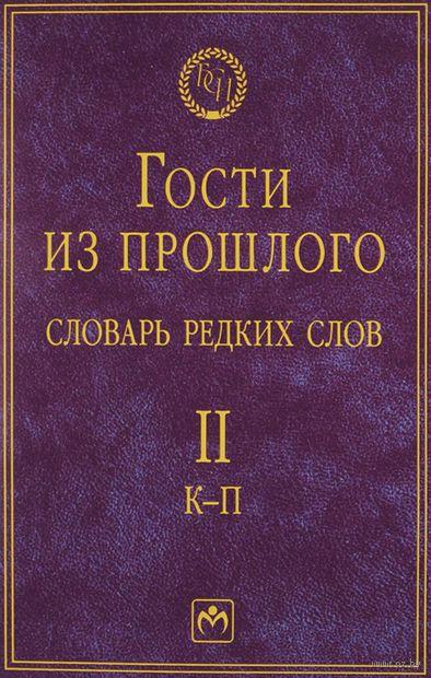 Гости из прошлого. Словарь редких слов. Том 2 (в 3 томах). Е. Гаева