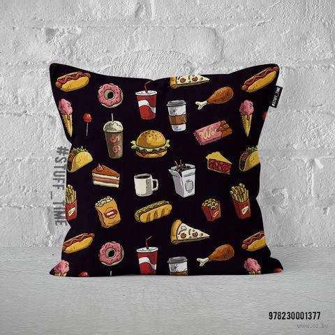 "Подушка ""Fast food"" (арт. 377) — фото, картинка"