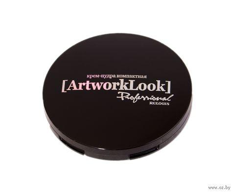 """Крем-пудра для лица """"ArtworkLook"""" (тон: 03, песочная пастель) — фото, картинка"""