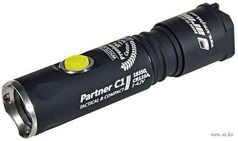 Фонарь Armytek Partner C1 Pro v3 XP-L (теплый свет) — фото, картинка