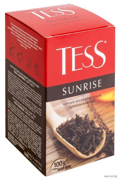 """Чай черный листовой """"Tess. Sunrise"""" (100 г) — фото, картинка"""
