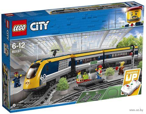 """LEGO City """"Пассажирский поезд"""" — фото, картинка"""