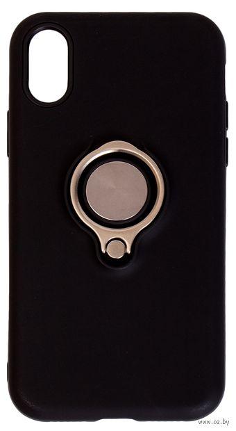 Чехол Biggo для iPhone X (черный) — фото, картинка
