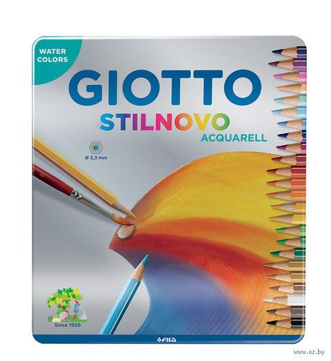 "Цветные карандаши ""GIOTTO STILNOVO ACQUARELL"" (24 цвета; арт. 256300)"