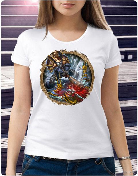 """Футболка женская """"Варкрафт"""" (размер 50; арт. 4) — фото, картинка"""