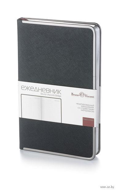 """Ежедневник недатированный """"Bridge"""" (A5; черный)"""
