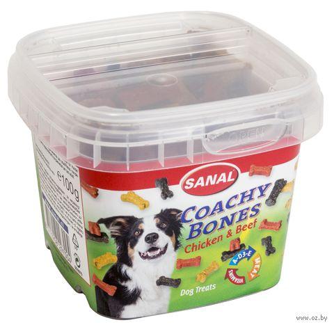 """Лакомство для собак """"Coachy Bones"""" (100 г) — фото, картинка"""